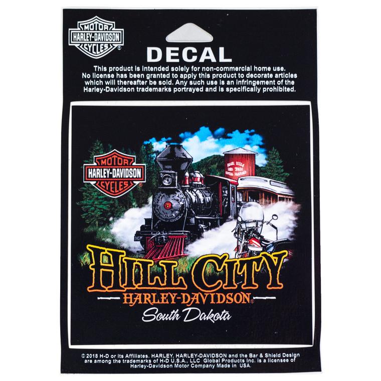 Hill City Harley-Davidson® 1880 Train Decal