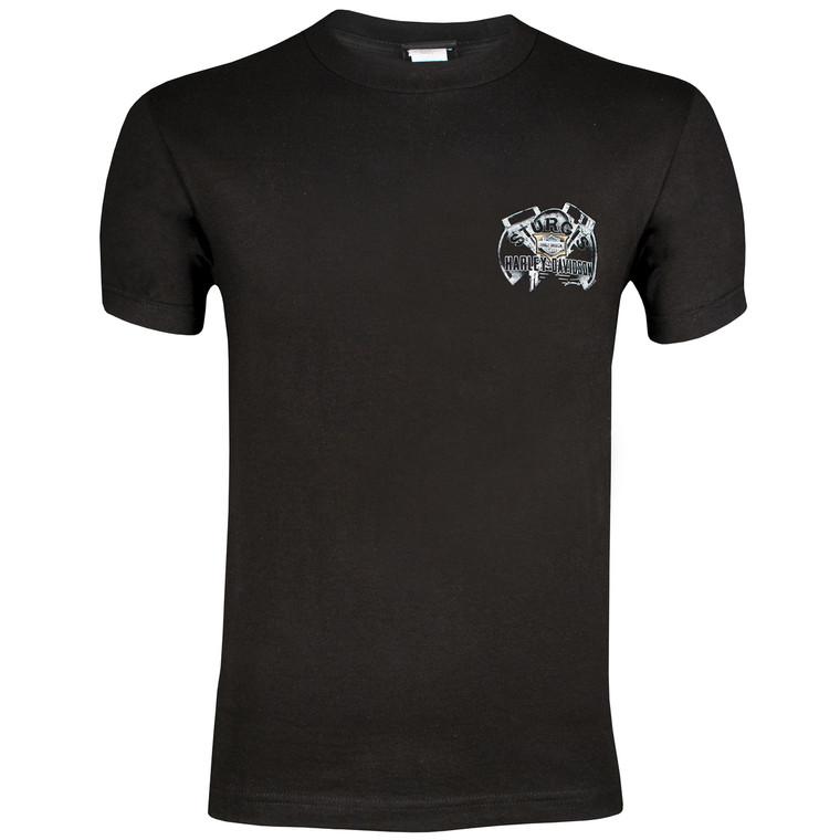 Sturgis Harley-Davidson® Men's Steel Black Short Sleeve T-Shirt