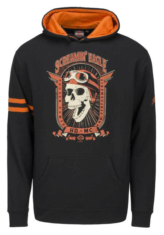 Harley-Davidson® Men's Sceamin' Eagle Retro Joker Pullover Hoodie