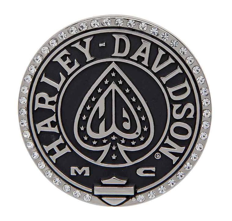 Harley-Davidson® Women's Embellished Ace Belt Buckle