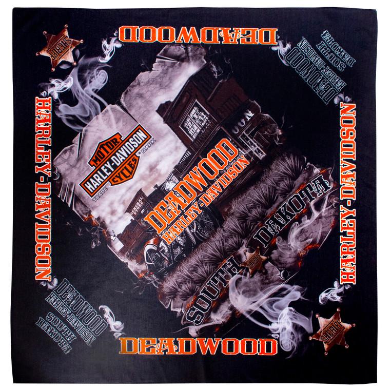 Deadwood Harley-Davidson Vintage Saloon Bandana