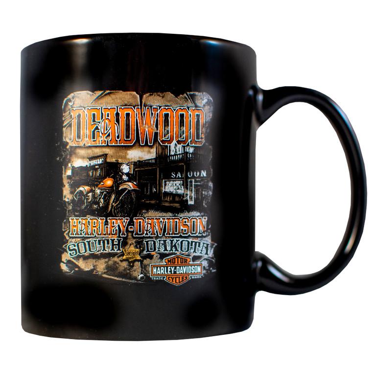 Deadwood Harley-Davidson Vintage Saloon Coffee Mug