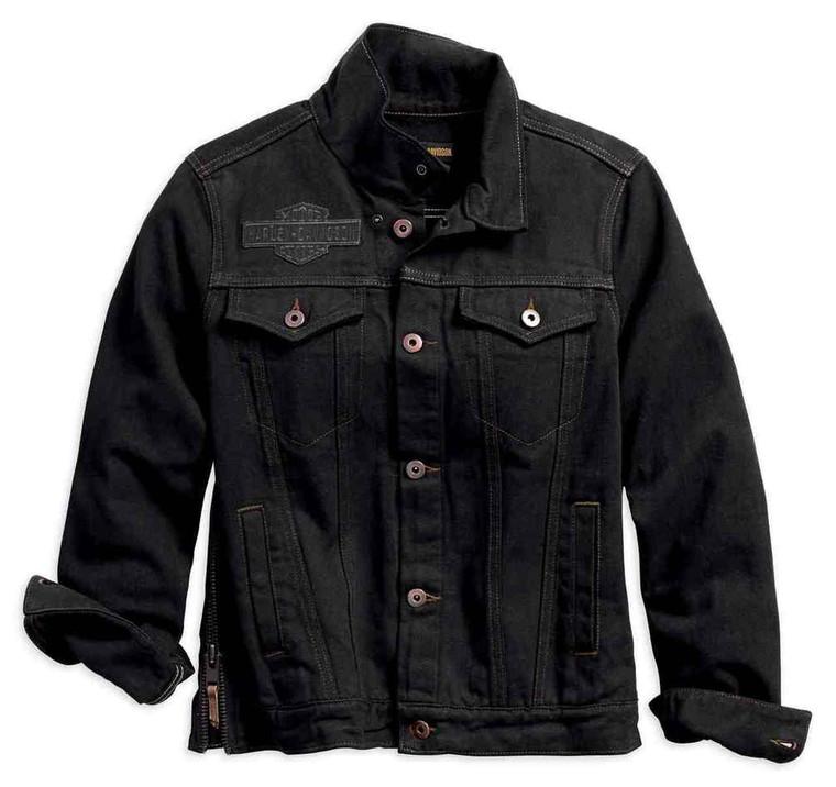 Harley-Davidson® Women's Winged Applique Denim Jacket 98593-18VW