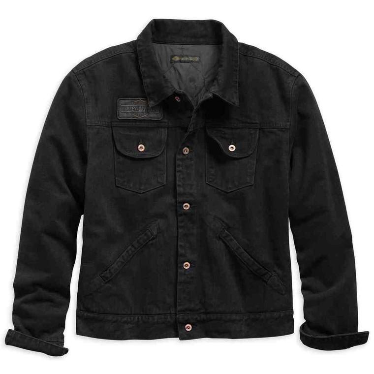 Harley-Davidson® Men's Overdyed Denim Jacket 98403-19VM