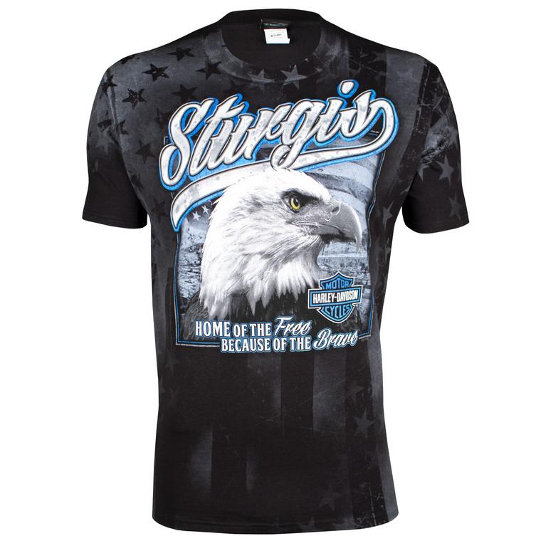 Sturgis Harley-Davidson® Men's Patriotic Eagle Short Sleeve T-Shirt