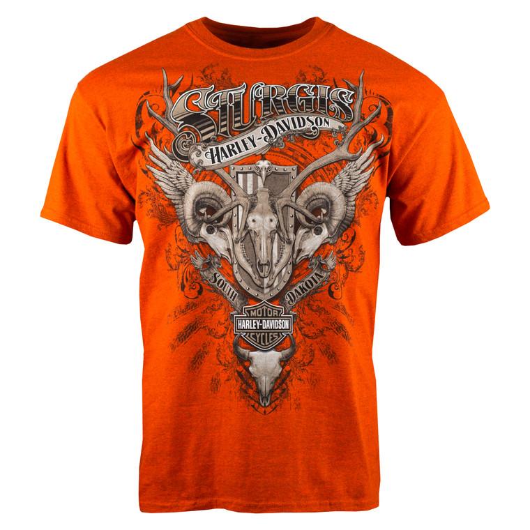 Sturgis Harley-Davidson® Men's Skull Collage Short Sleeve T-Shirt