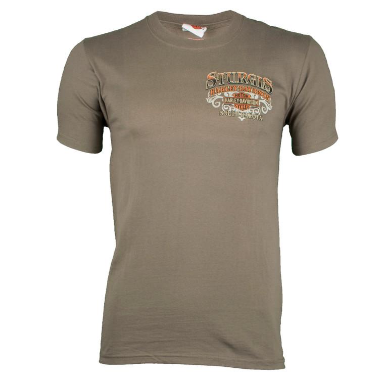 Sturgis Harley-Davidson® Men's Riding Scene Short Sleeve T-Shirt
