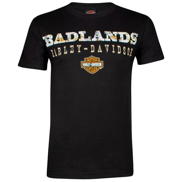 Badlands Harley-Davidson® Men's Road Short Sleeve T-Shirt