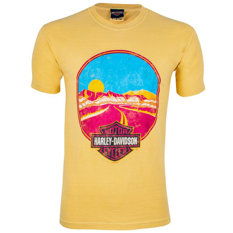 Badlands Harley-Davidson® Men's 70's Road Short Sleeve T-Shirt