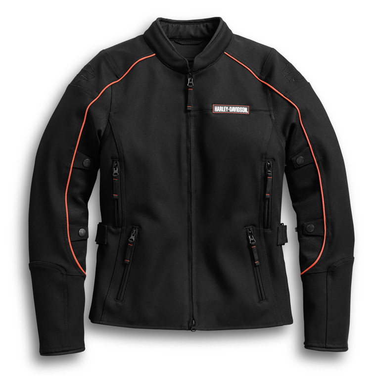 Harley-Davidson® Women's Fennimore Stretch Riding Jacket 98162-18VW