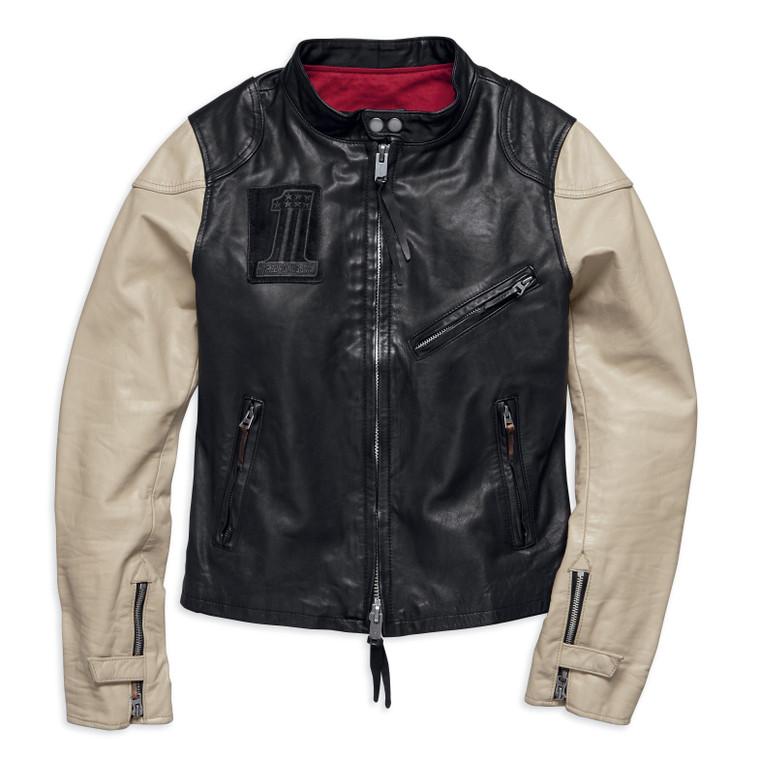 Harley-Davidson® Women's Pushrod Leather Jacket 98034-18VW