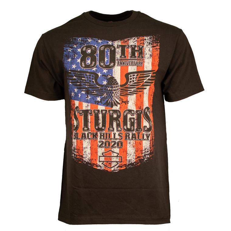 2020 Sturgis Harley-Davidson® Men's Patriot 80th Rally T-Shirt