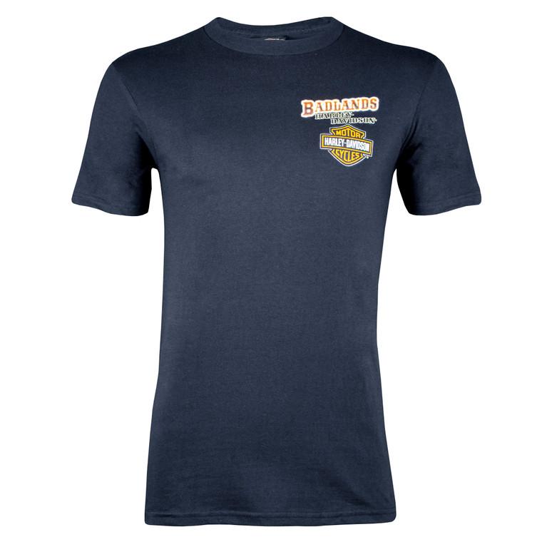 Badlands Harley-Davidson® Men's Roadside Short Sleeve T-Shirt