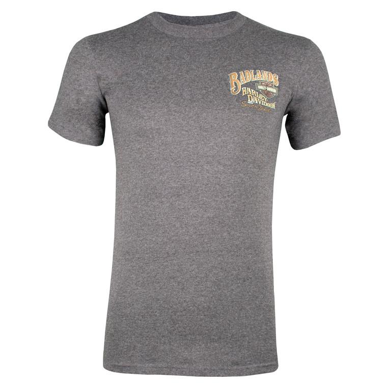 Badlands Harley-Davidson® Men's Cowgirl Pinup Short Sleeve T-Shirt