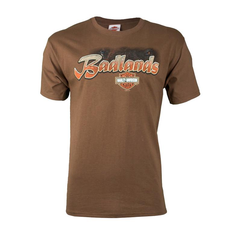 Badlands Harley-Davidson® Men's Buffalo Eyes Short Sleeve T-Shirt