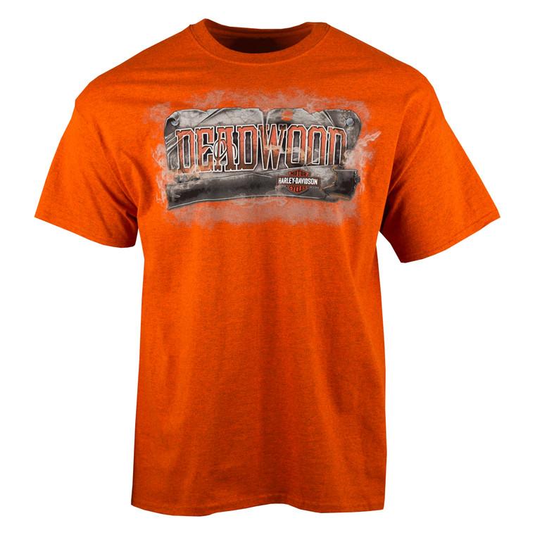 Deadwood Harley-Davidson® Men's Vintage Saloon Short Sleeve T-Shirt