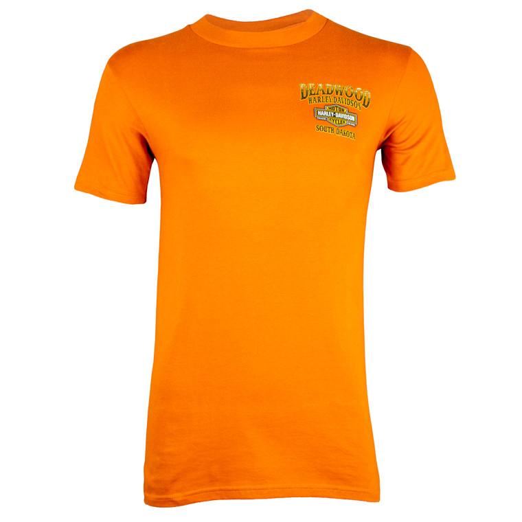 Deadwood Harley-Davidson® Men's Face Off Short Sleeve T-Shirt