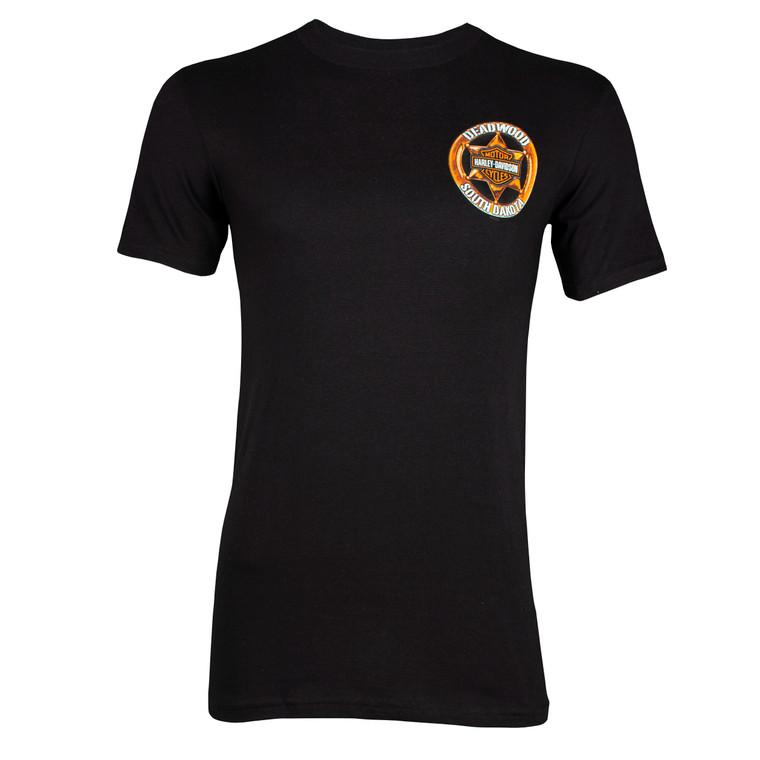 Deadwood Harley-Davidson® Men's Cowboy Short Sleeve T-Shirt