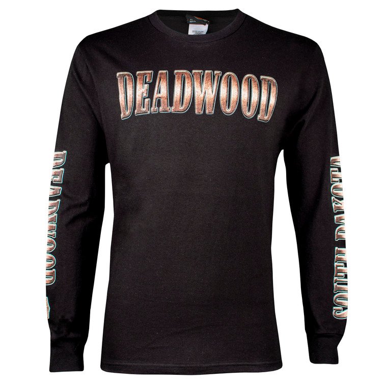 Deadwood Harley-Davidson® Men's Bronze Coin Long Sleeve T-Shirt