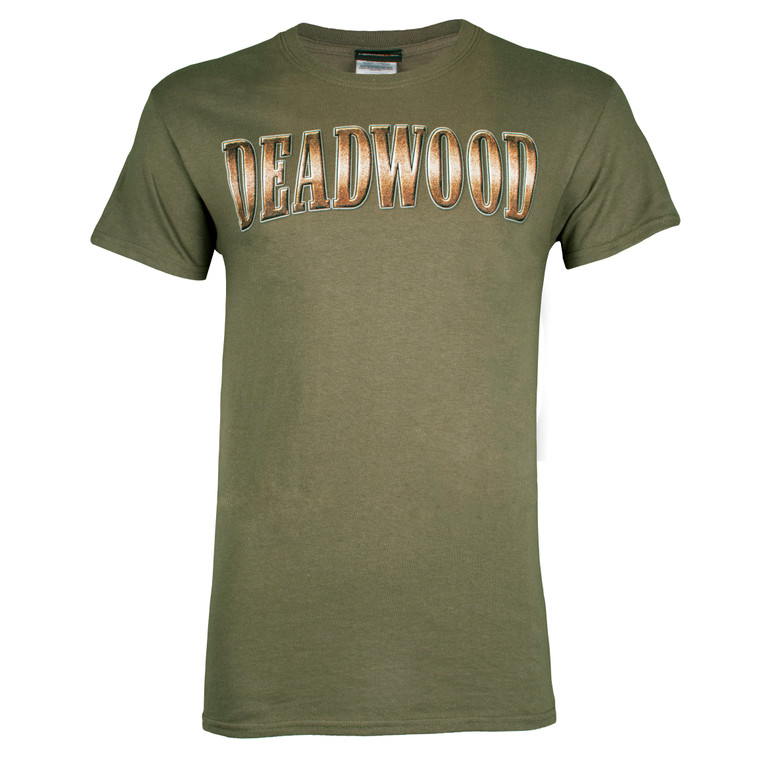 Deadwood Harley-Davidson® Men's Bronze Coin Short Sleeve T-Shirt