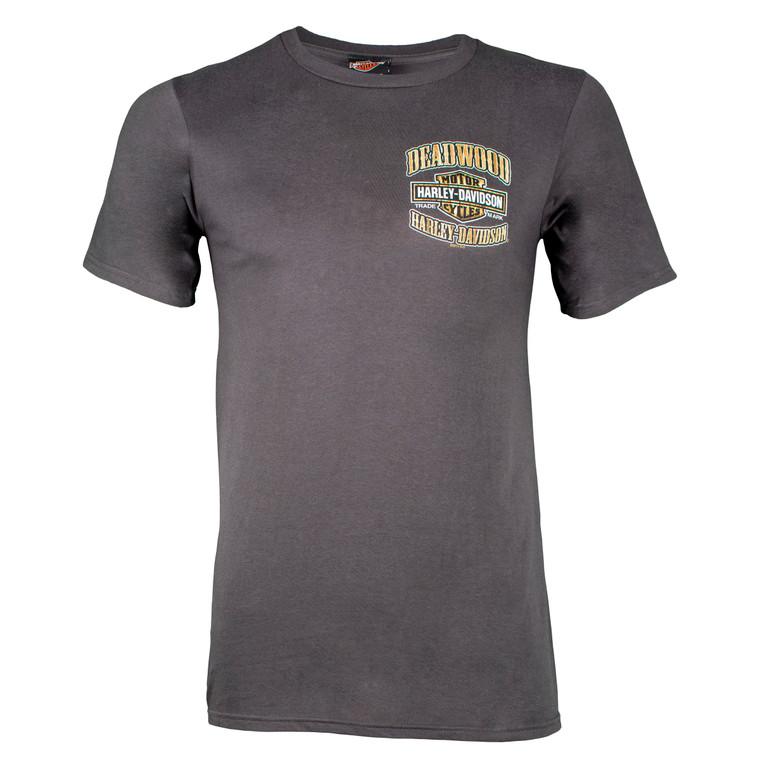 Deadwood Harley-Davidson® Men's Cigar Skull Short Sleeve T-Shirt