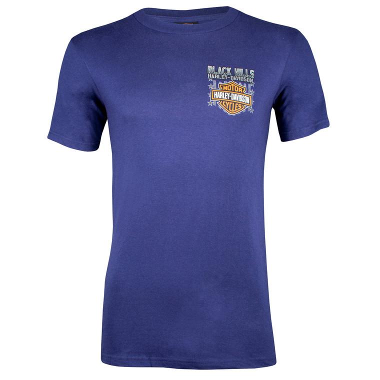 Black Hills Harley-Davidson® Men's Bomber Short Sleeve T-Shirt