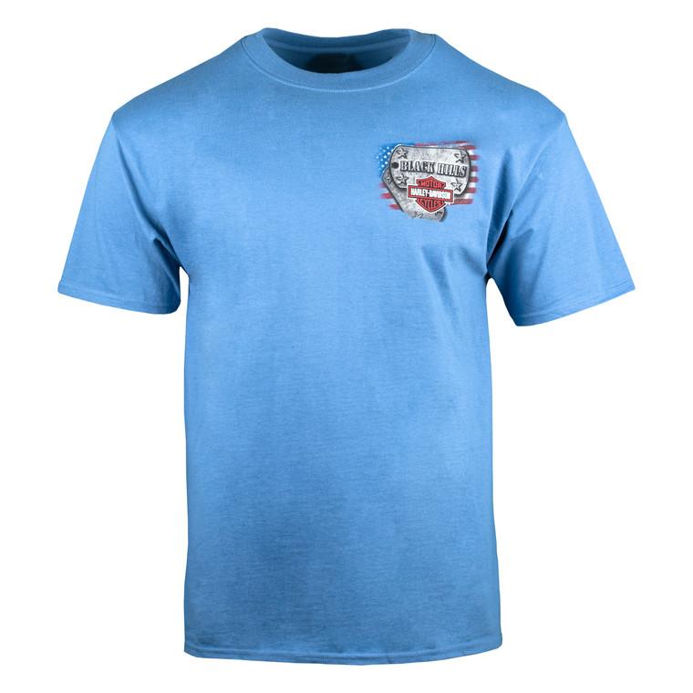 Black Hills Harley-Davidson® Men's Flying Bomber Short Sleeve T-Shirt