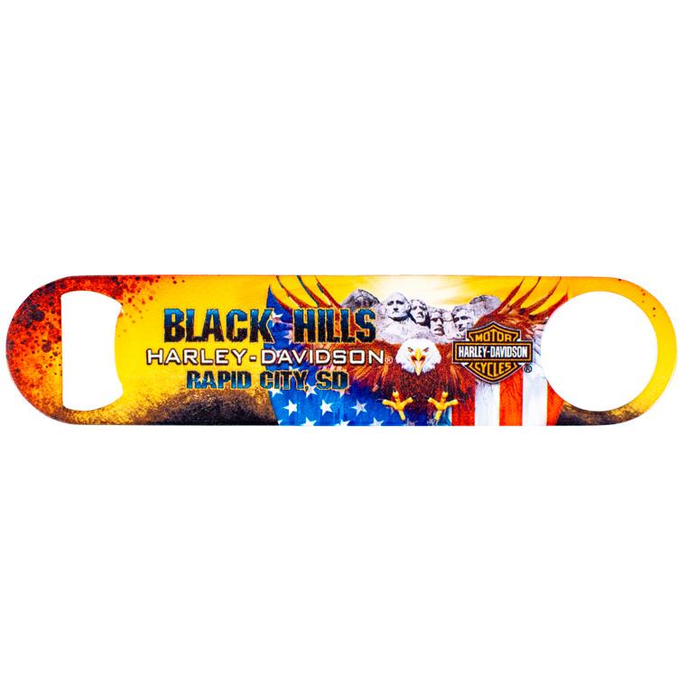 Black Hills Harley-Davidson® Patriotic Eagle Bottle Opener