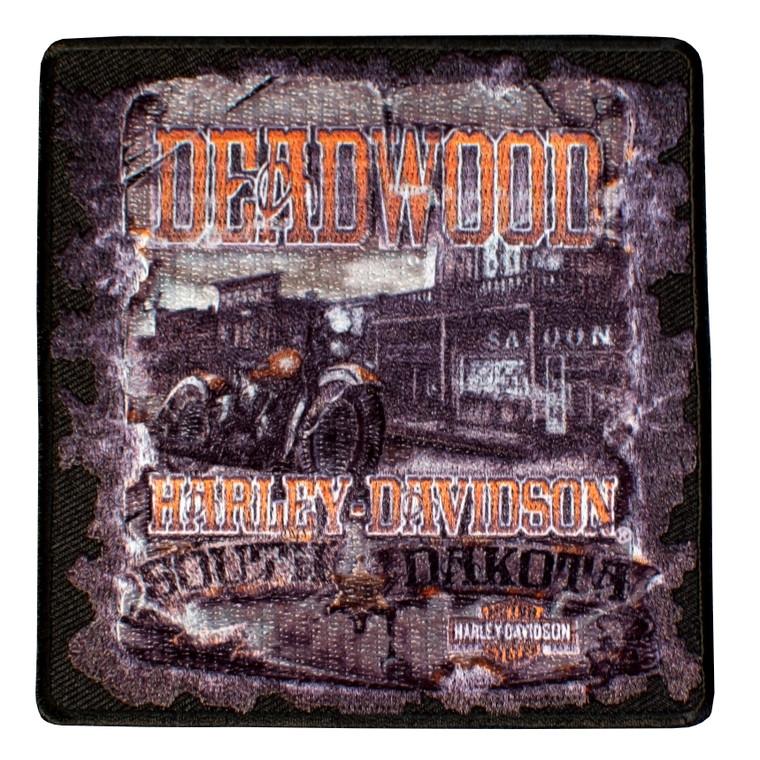 Deadwood Harley-Davidson® Vintage Saloon Emblem Patch