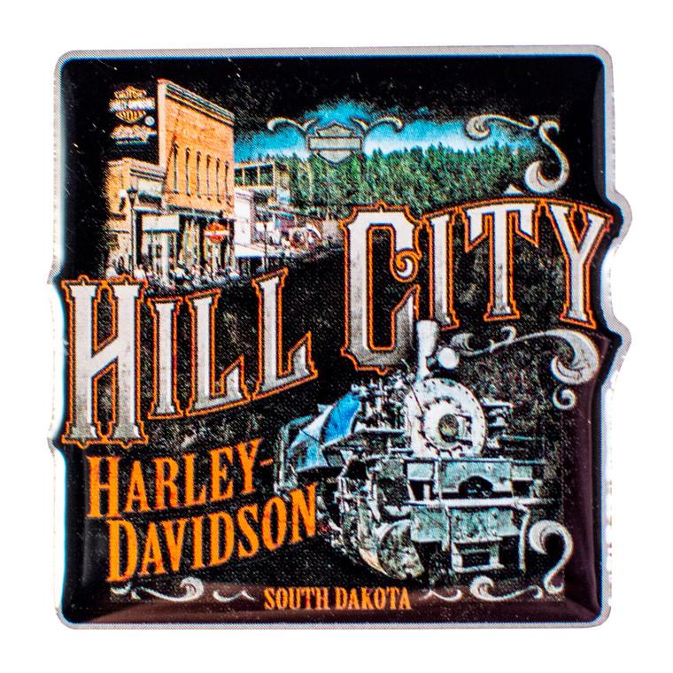 Hill City Harley-Davidson® Vintage Collage Pin