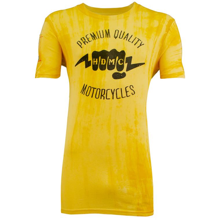 Sturgis Harley-Davidson® Men's Gold Knuckles Short Sleeve T-Shirt