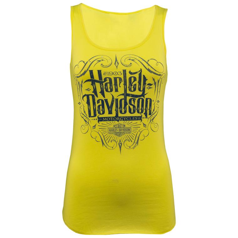 Sturgis Harley-Davidson® Women's Hook Badge Tank Top