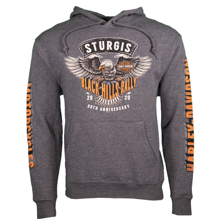 2020 Sturgis Harley-Davidson® Men's Clutched 80th Rally Pullover Hoodie