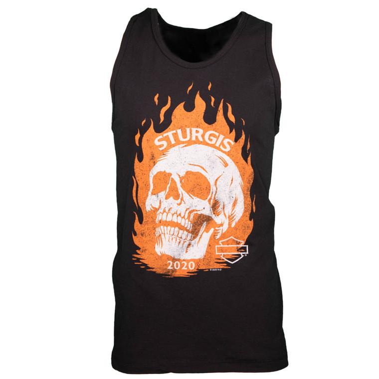 2020 Sturgis Harley-Davidson® Men's Fire Skull 80th Rally Tank Top