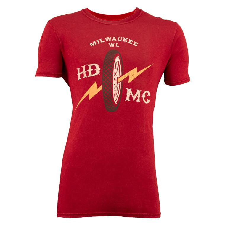 Sturgis Harley-Davidson® Men's Bolt Wheel Short Sleeve T-Shirt