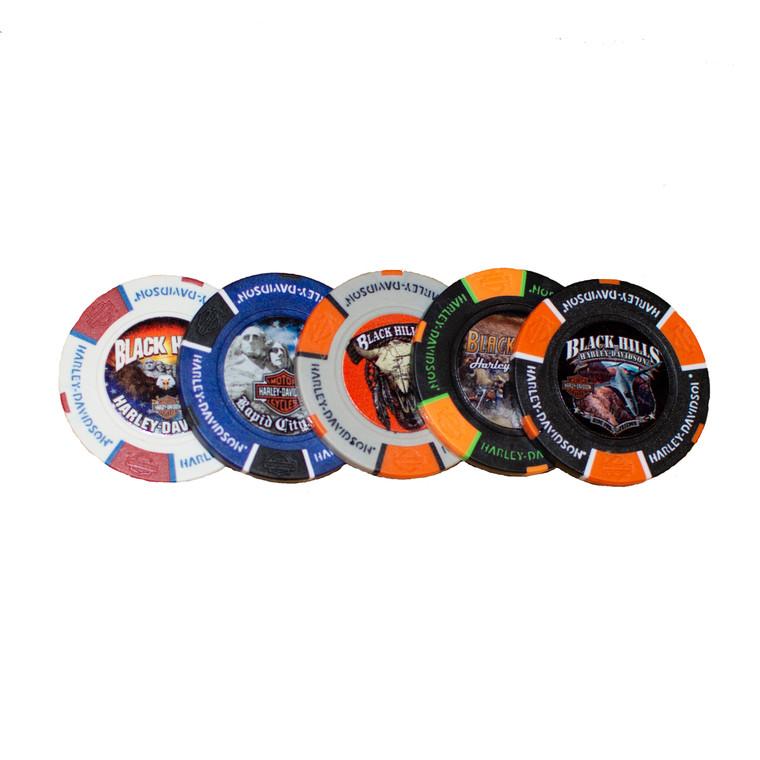 Black Hills Harley-Davidson® Poker Chip
