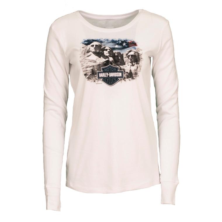 Black Hills Harley-Davidson® Women's Proud Scene Long Sleeve Shirt