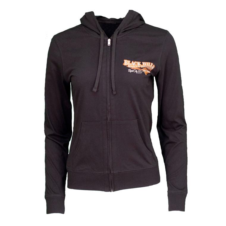 Black Hills Harley-Davidson® Women's Storm Watch Lightweight Zip-Up Hoodie