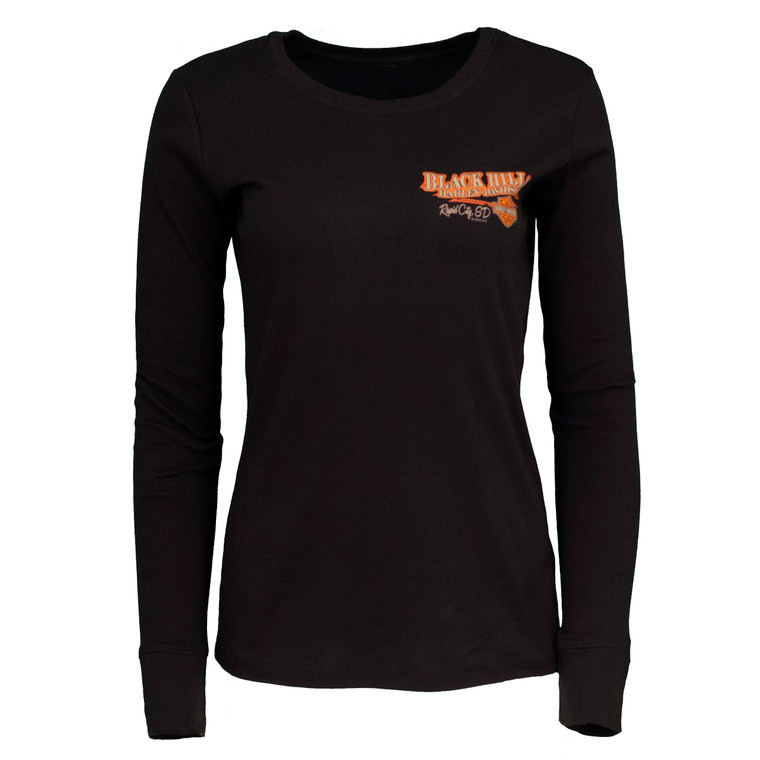 Black Hills Harley-Davidson® Women's Storm Watch Long Sleeve Shirt