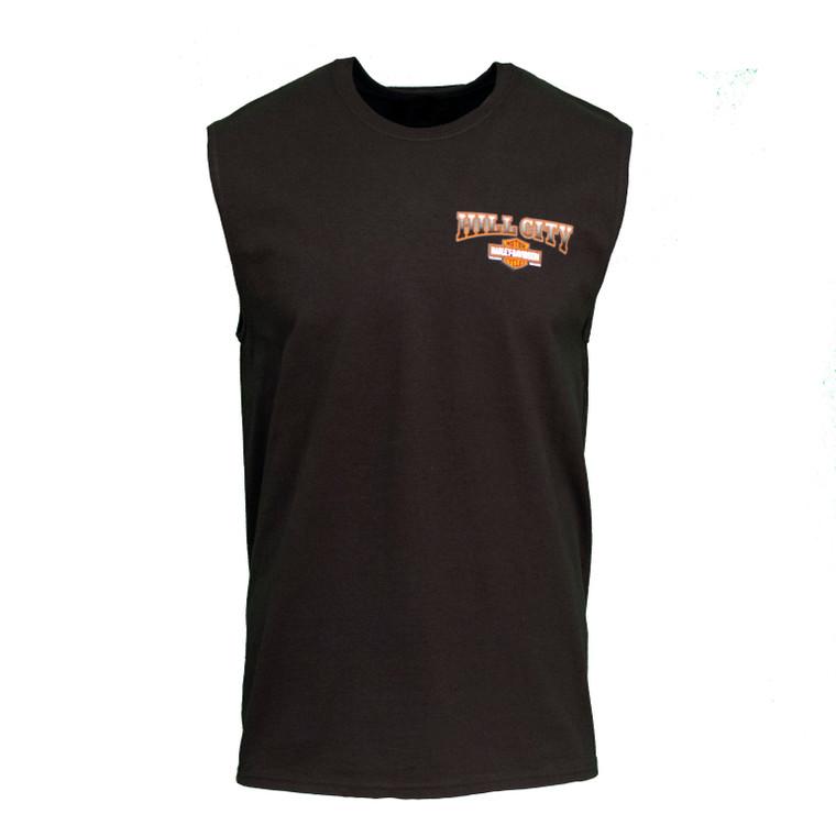 Hill City Harley-Davidson® Men's Hold Up Sleeveless T-Shirt