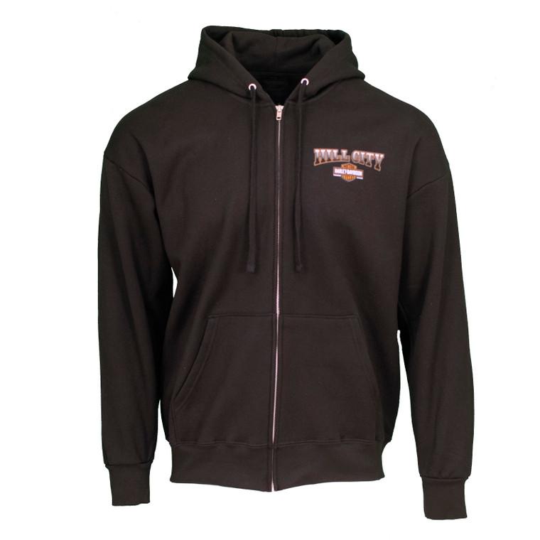 Hill City Harley-Davidson® Men's Hold Up Zip Up Hoodie