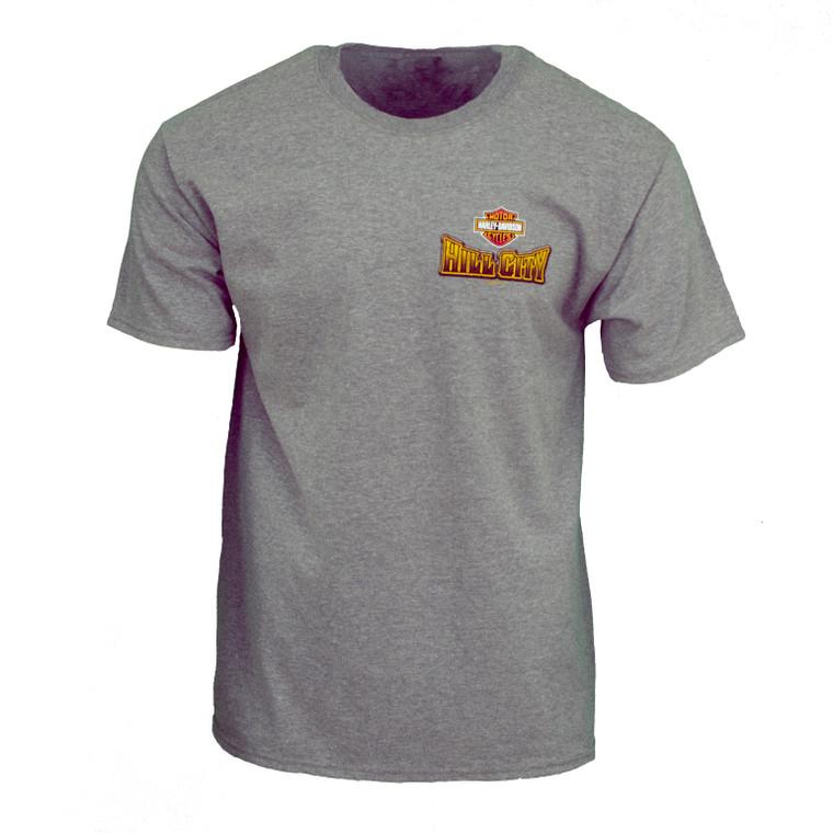 Hill City Harley-Davidson® Men's Pig Tail Short Sleeve T-Shirt