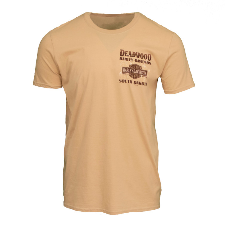 Deadwood Harley-Davidson® Men's Gambler Short Sleeve T-Shirt