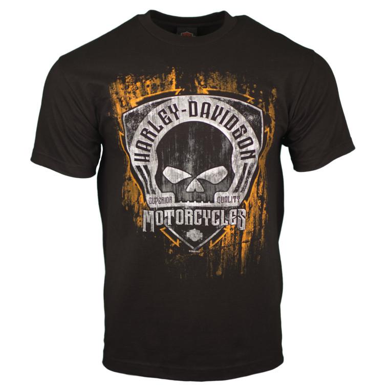 Sturgis Harley-Davidson® Men's Black Corrosion Short Sleeve T-Shirt
