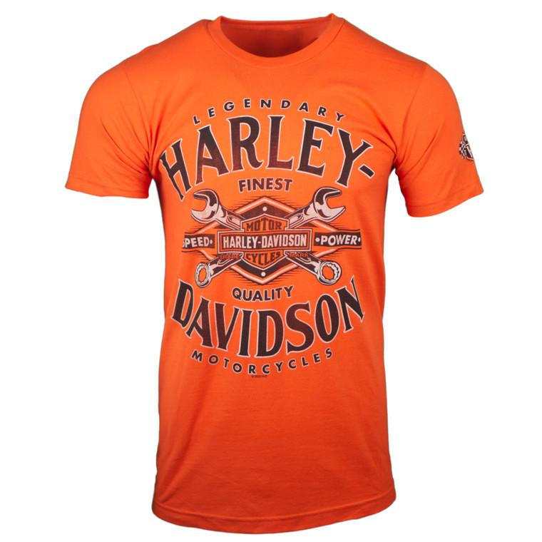 Sturgis Harley-Davidson® Men's Orange Toolbox Short Sleeve T-Shirt
