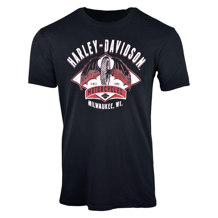 Sturgis Harley-Davidson® Men's Winged Diamond Short Sleeve T-Shirt