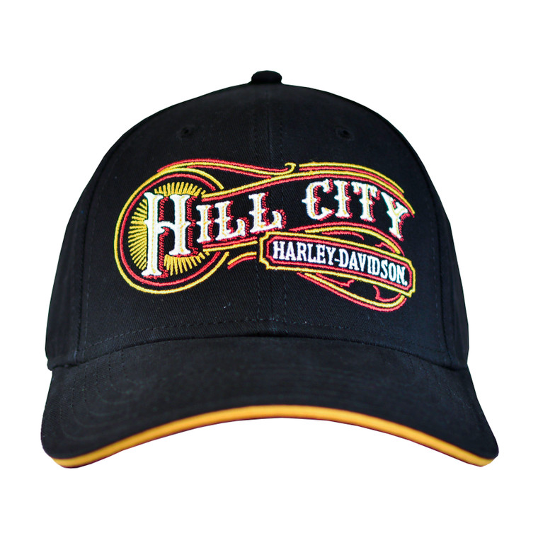 Hill City Harley-Davidson® Men's Old Font Ballcap Hat