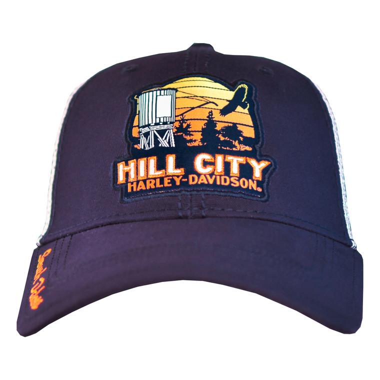 Hill City Harley-Davidson® Men's Water Power Ballcap Hat