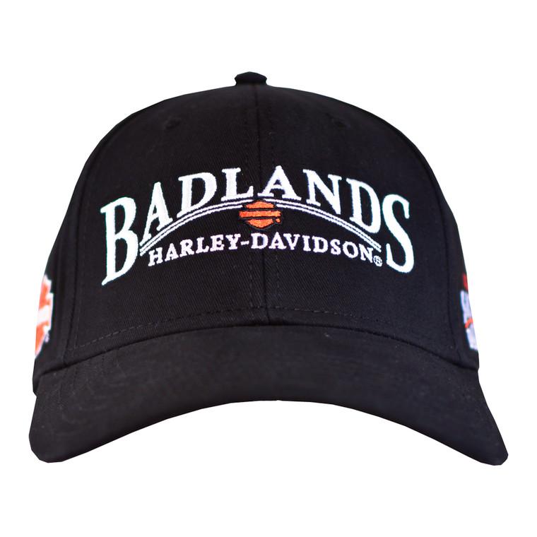 Badlands Harley-Davidson® Men's Arched Ballcap Hat
