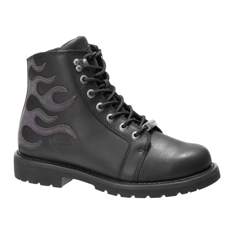 Harley-Davidson® Men's Garston Black Motorcycle Boot D96188